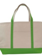 Grass Green Large Boat Tote