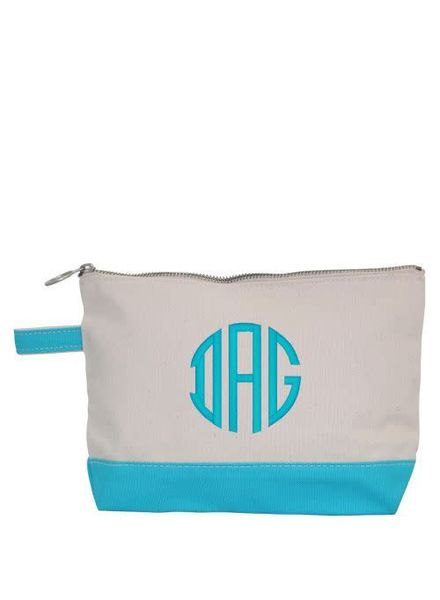 CB Station Turquoise Make Up Bag