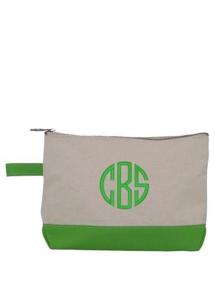 CB Station Grass Green Make Up Bag