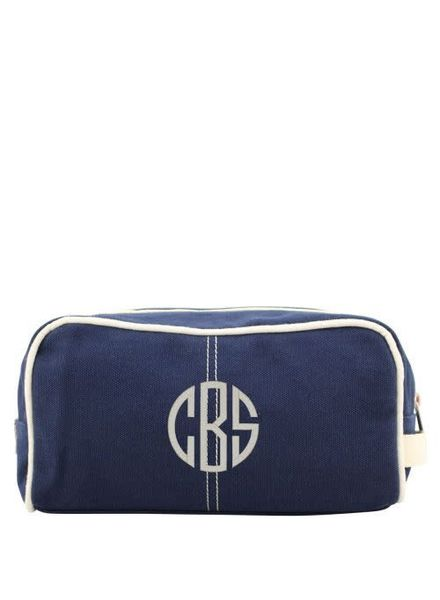 CB Station Navy Canvas Dopp Kit
