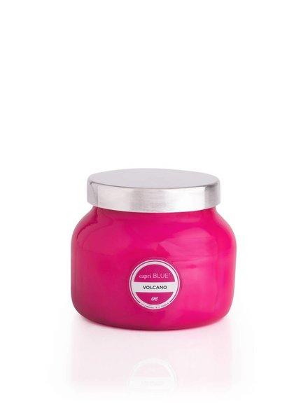 Capri Blue Volcano Petite Pink Candle