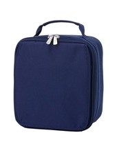 Wholesale Boutique Solid Navy Lunch Box