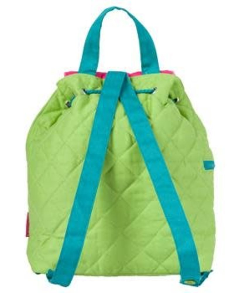 Stephen Joseph Flamingo Quilted Backpack