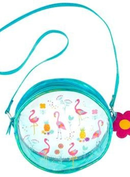 Stephen Joseph Iridescent Flamingo Purse