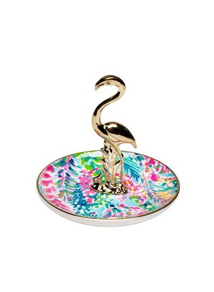 Lilly Pulitzer Flamingo Ring Holder