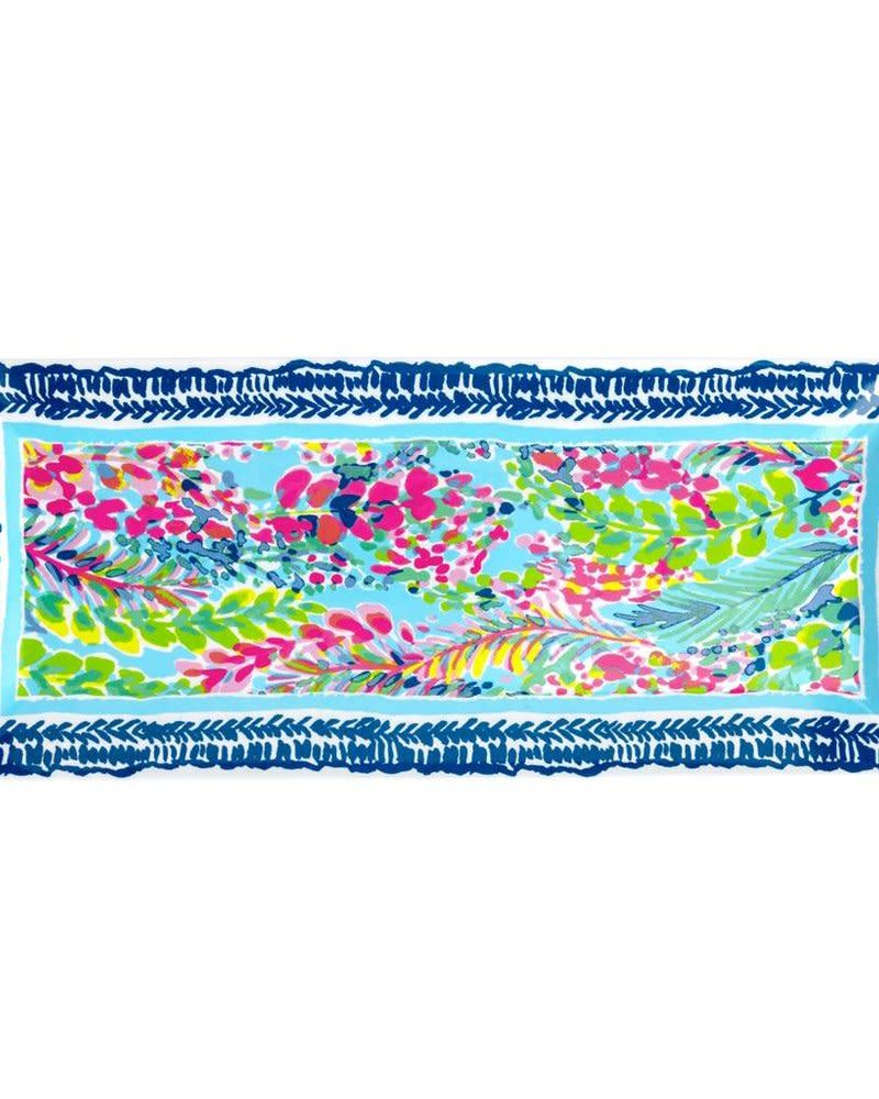 Lilly Pulitzer Catch the Wave Serving Platter