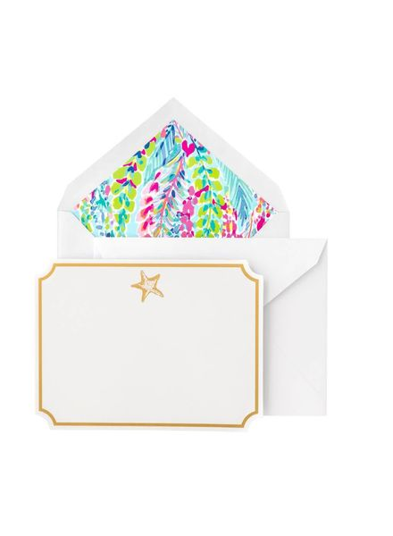 Lilly Pulitzer Catch the Wave Correspondence Cards