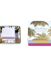 Lilly Pulitzer Metallic Palms Soap Tray Set