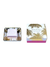 Lilly Pulitzer Metallic Palms Soap Tray Set
