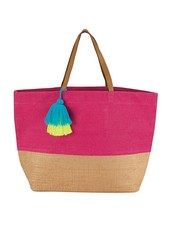 Mudpie Pink Color Pop Tote Bag