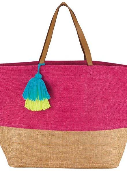 Mudpie Pink Color Pop Tote Bag