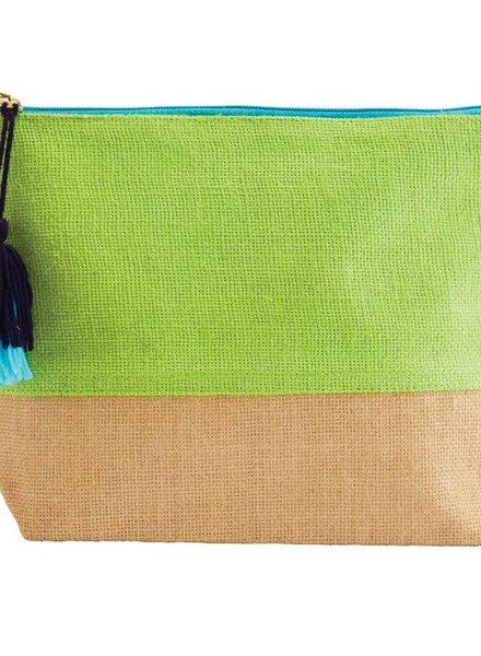 Mudpie Green Color Pop Zip Case