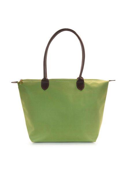 Green Medium Nylon Tote