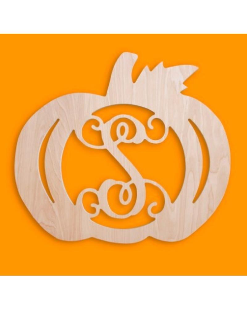 WB Wood Sign - Pumpkin - Initial Styles Jupiter 029f130e9cccb