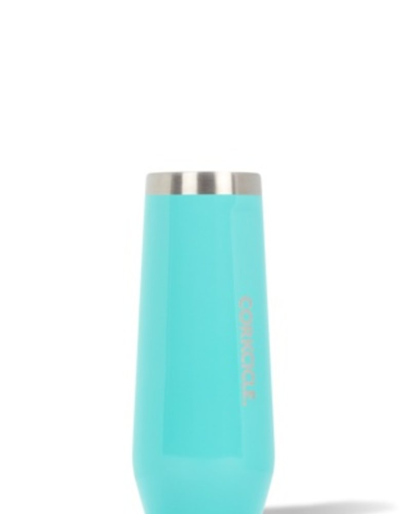 CORKCICLE Turquoise Stemless Flute