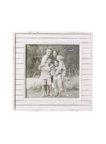 Mudpie White Planked Frame
