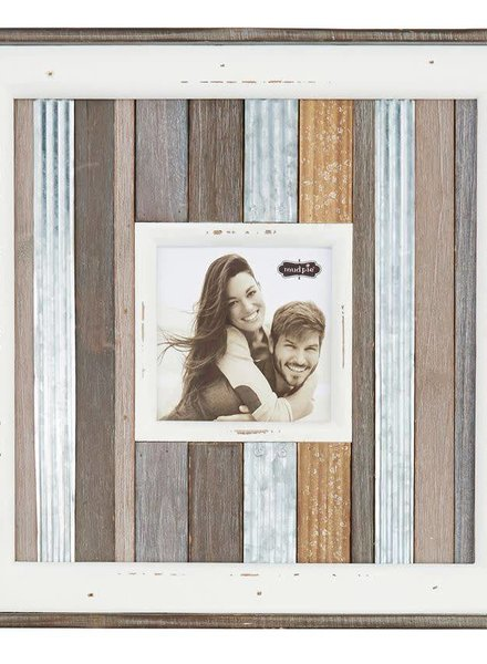 Mudpie Small Metal Variegated Frame