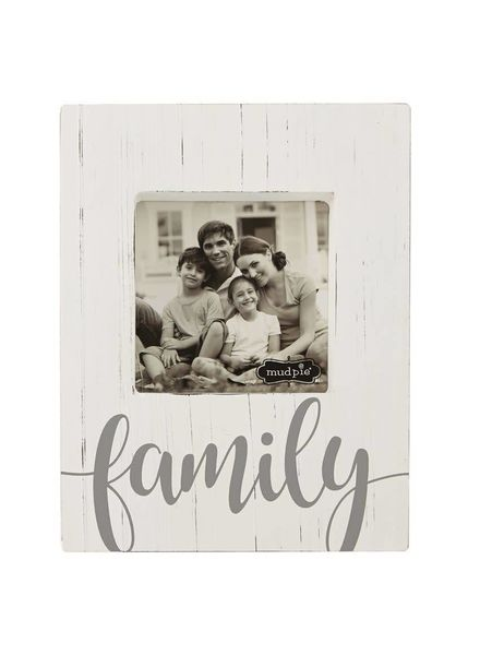 Mudpie Family Block Frame