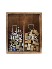 Mudpie His & Hers Cork Display Box