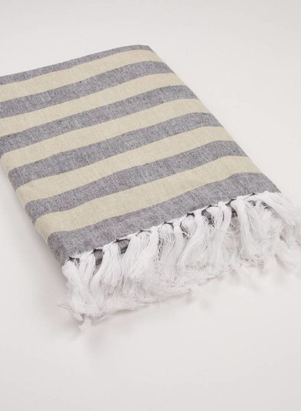 ROYAL STANDARD Black & Gold Nantucket Throw