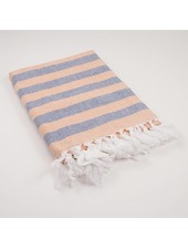 ROYAL STANDARD Navy & Orange Nantucket Throw