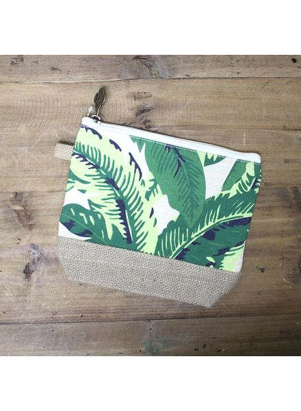 ROYAL STANDARD Maui Palm Cosmetic Bag
