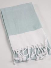 ROYAL STANDARD Turquoise Fringe Hand Towel