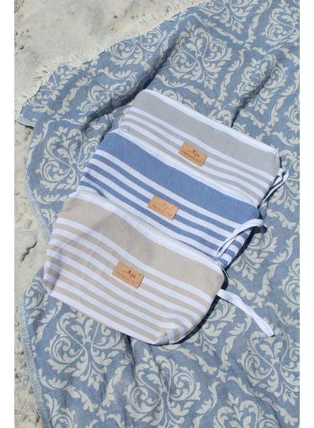 The Green Owl Sand Turkish Towel Wet Bag