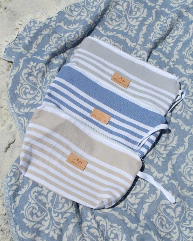 The Green Owl Sand Turkish Towel Wet Bag