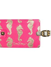 Lilly Pulitzer Horsin' Around Luggage Tag