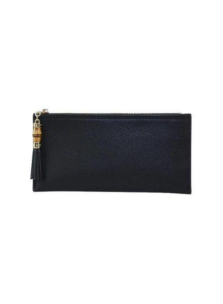 Black Tassel Wallet