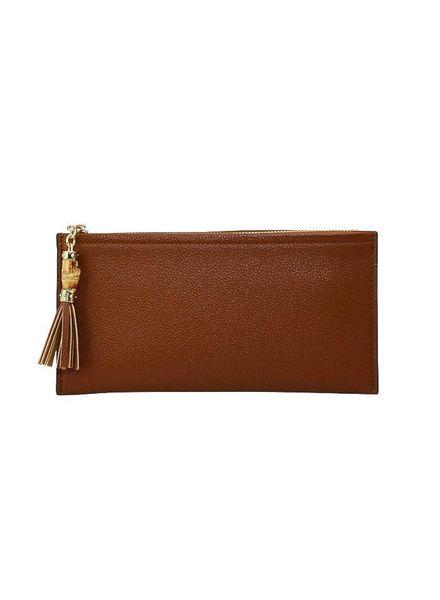 Camel Tassel Wallet