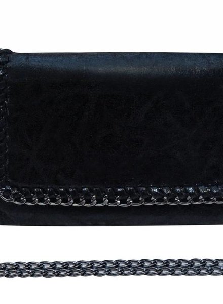Black Chain Crossbody