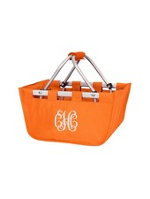 Wholesale Boutique Orange Mini Market Tote