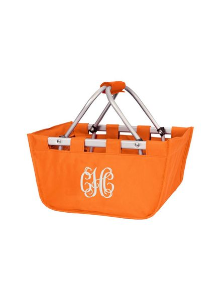 Wholesale Boutique Orange Mini Market Tote