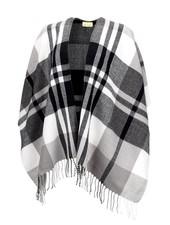 Wholesale Boutique Black & Grey Kennedy Shawl