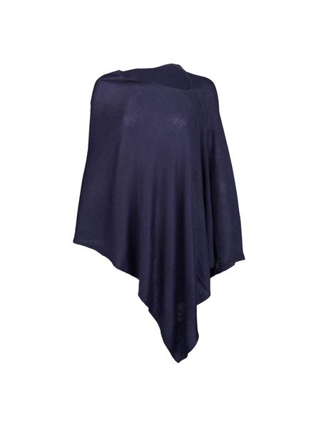 Wholesale Boutique Navy Monogrammed Poncho