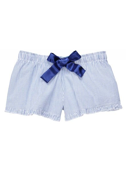 Boxercraft Navy Seersucker Shorts