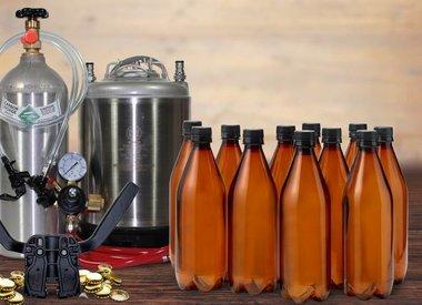 Bottle and Keg