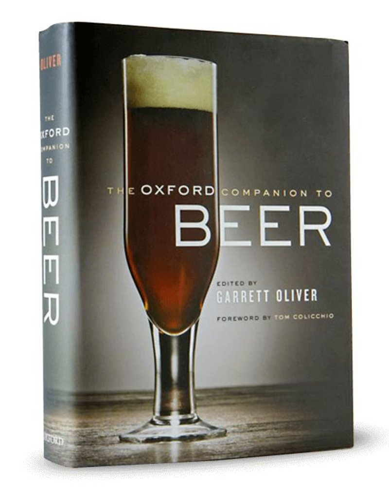 Book - The Oxford Companion to Beer Garret Oliver