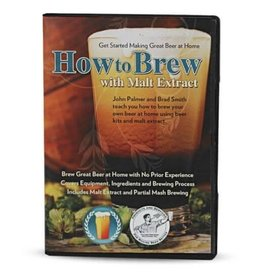 DVD - How To Brew With Malt Extract John Palmer, Brad Smith