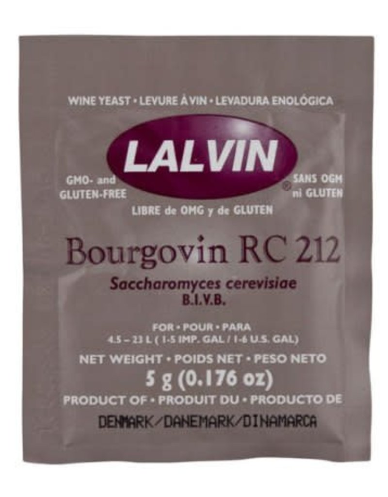 Lalvin Wine Yeast - RC-212