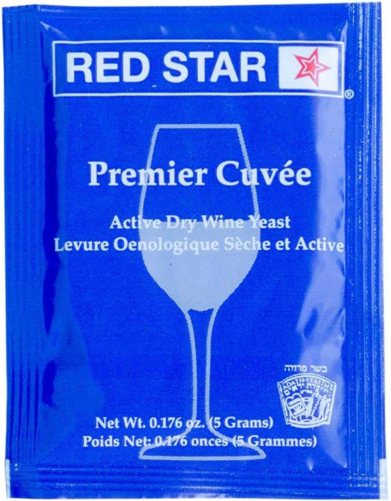 Red Star Wine Yeast - Premier Cuvee
