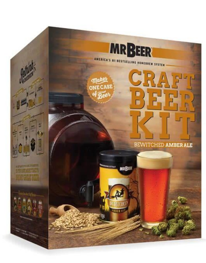 MrBeer MRB - Bewitched Amber Ale Starter Kit