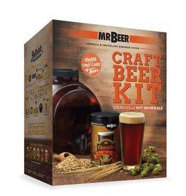 MrBeer MRB - Churchill's Nut Brown Ale Starter Kit