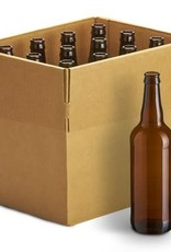 Glass Longneck Bottles - 22 oz