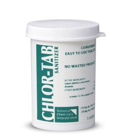 Chlor-Tab Sanitizer And Disinfectant - 5 tabs