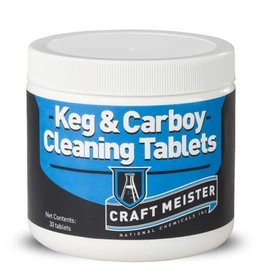 Craft Meister Keg And Carboy Tablets - 30 tabs