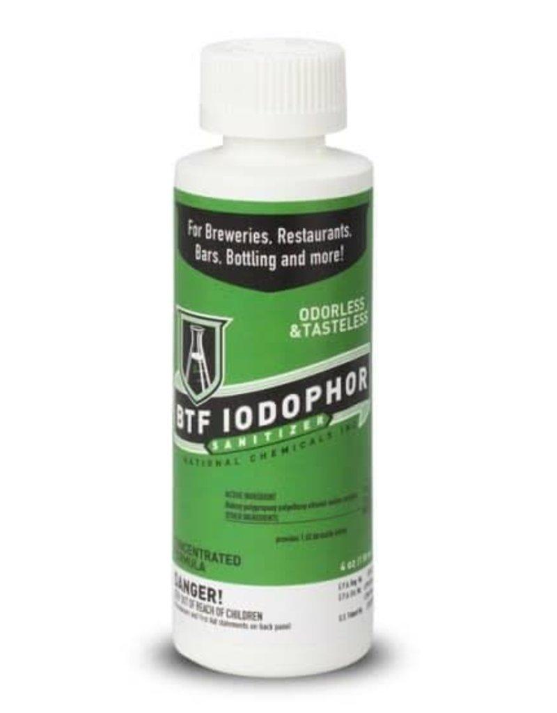 Iodophor Sanitizer - 4 oz