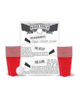 MrBeer Beer Pong Game - 22 Cups & 2 Balls